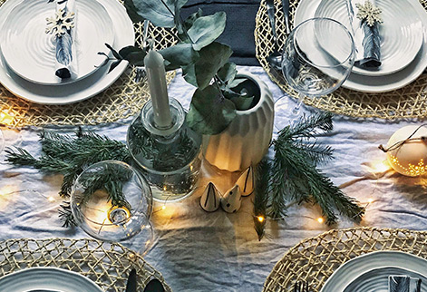 Styling your festive table