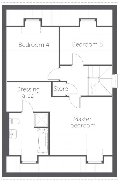 Naples floor plan