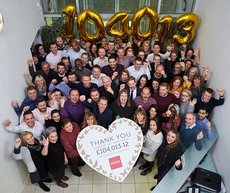 HOW MORE THAN £100,000 WAS RAISED FOR OUR CHARITY OF THE YEAR
