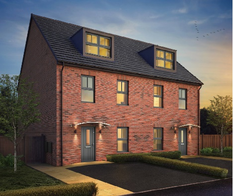 Leeds, Kudos, Rosas four bedroom semi-detached home