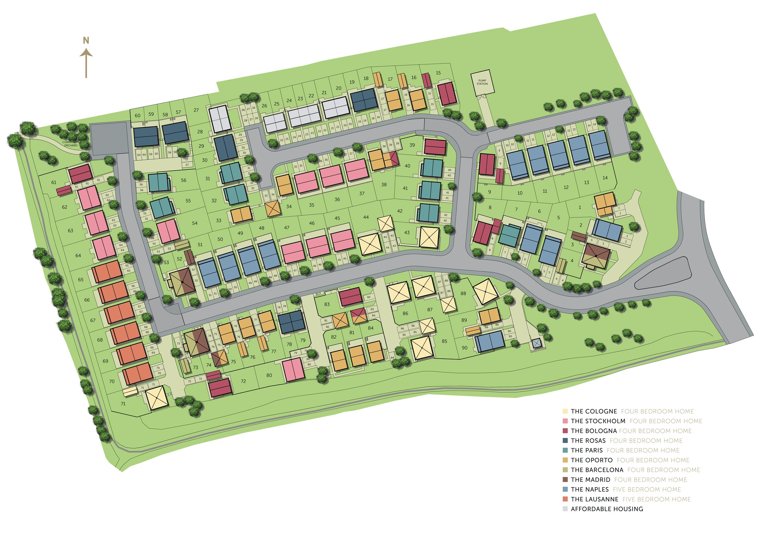 Belong site plan