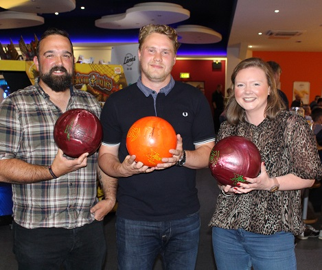 Charity bowling event sees record numbers