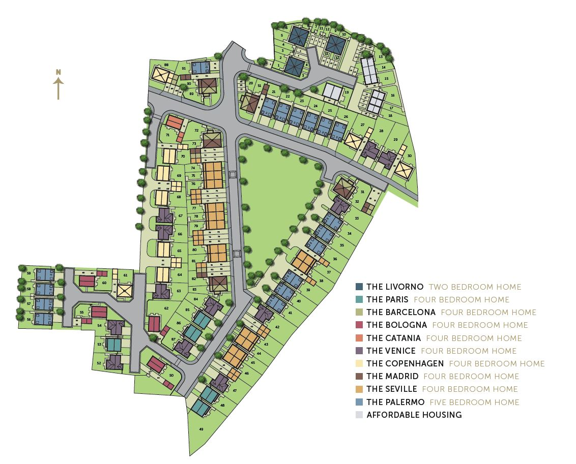 Epitome site plan