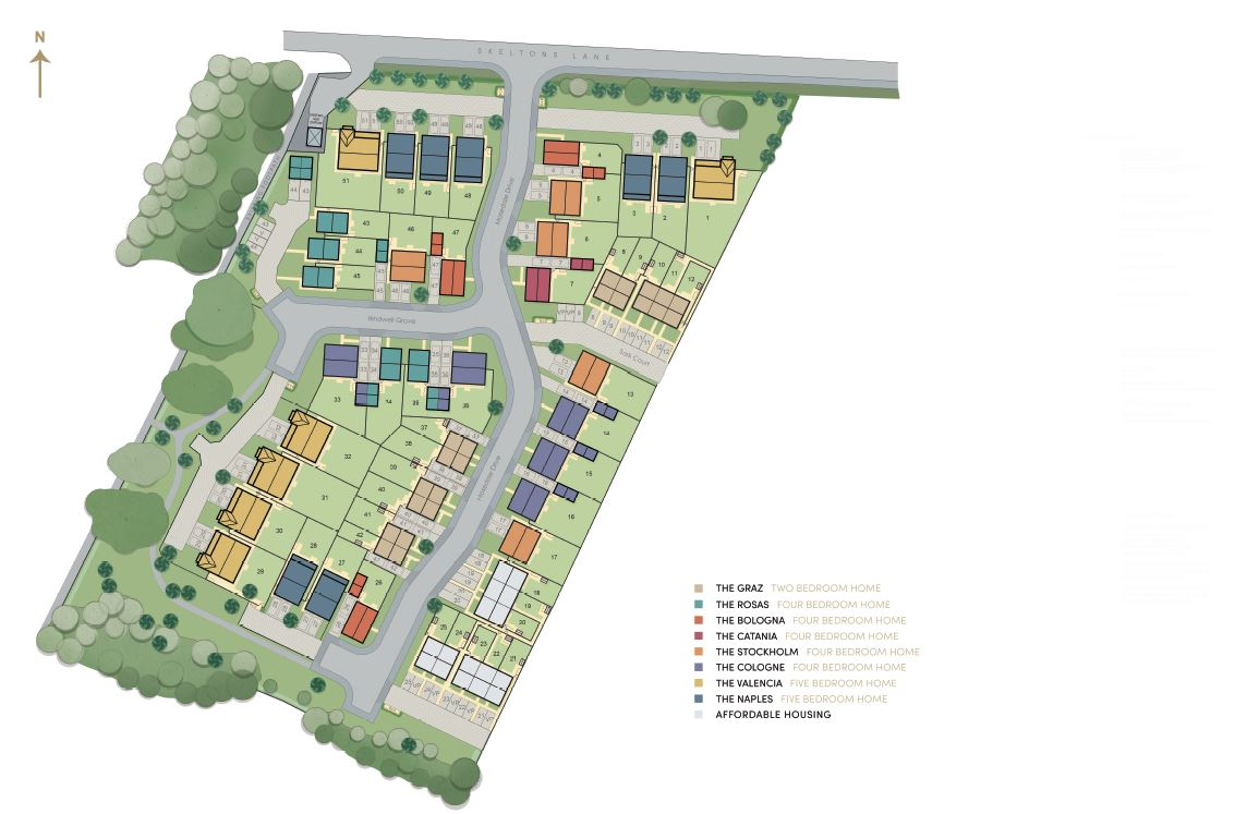 Finesse site plan