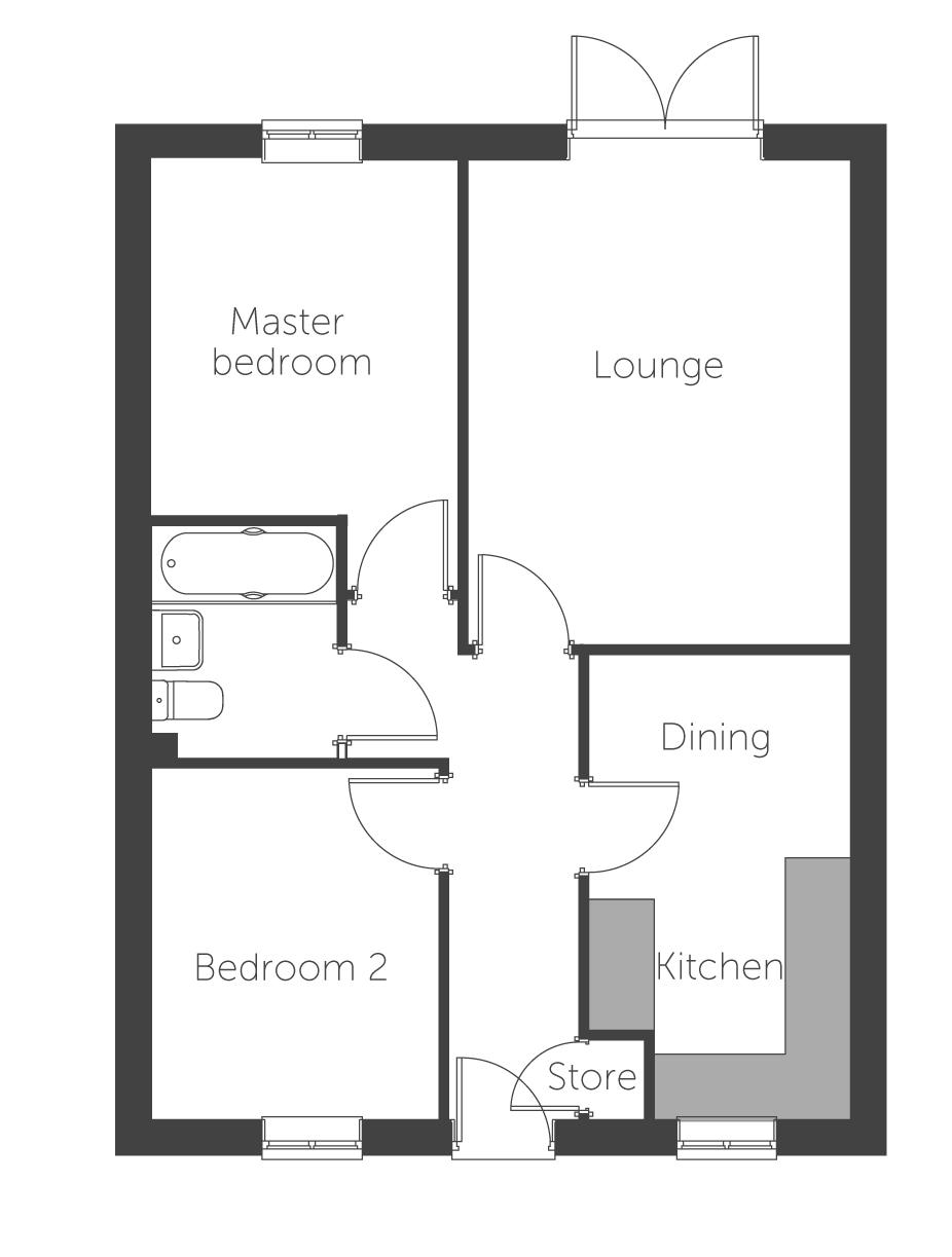 Annecy floor plan