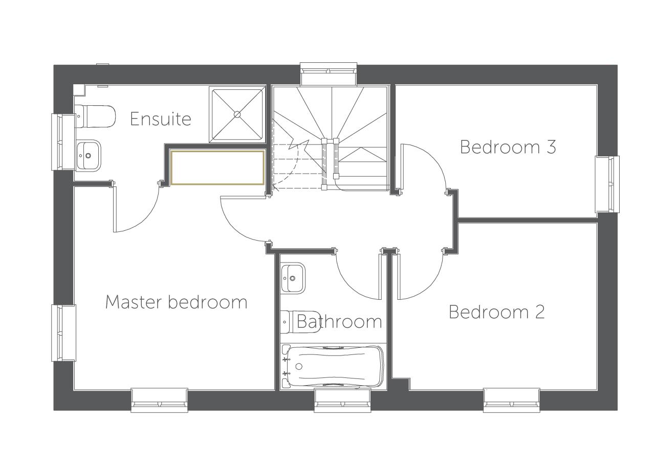 3 Bedroom Homes in Mackworth, Derby | Sassari at ...