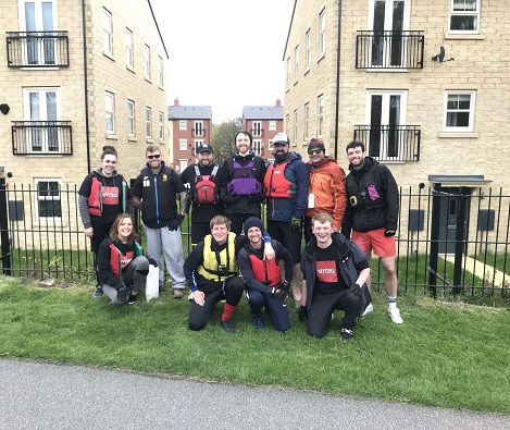 Strata team kayak across Yorkshire to raise money for Autism Angels