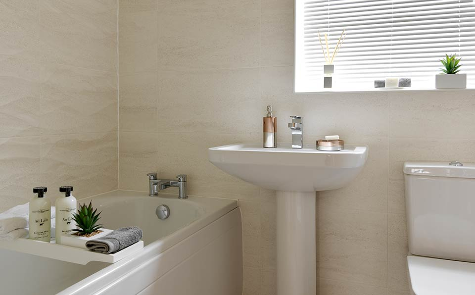 Rosas Bathroom