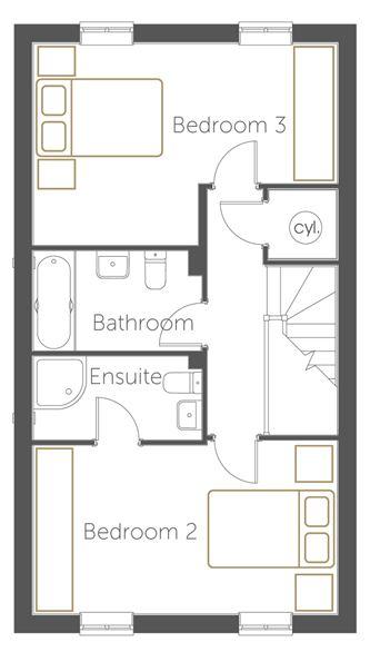 Malaga floor plan