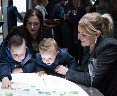 EMOTION WELCOMES VIPS TO MARK LAUNCH OF NEW HOMES