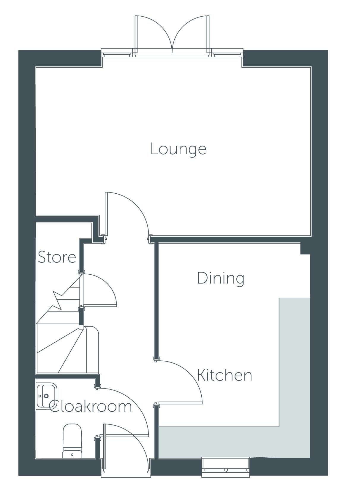 Pareti floor plan