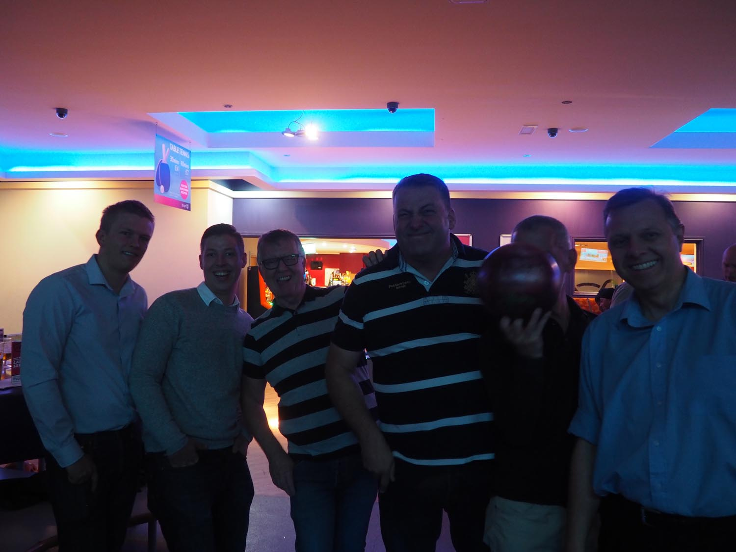 Charity Bowling - October 2018