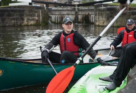 Kayaking across Yorkshire