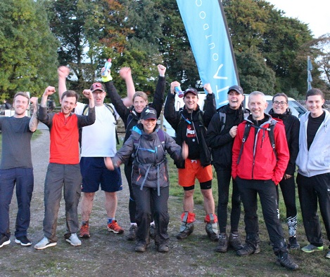 Staff, suppliers and friends go the distance for charity