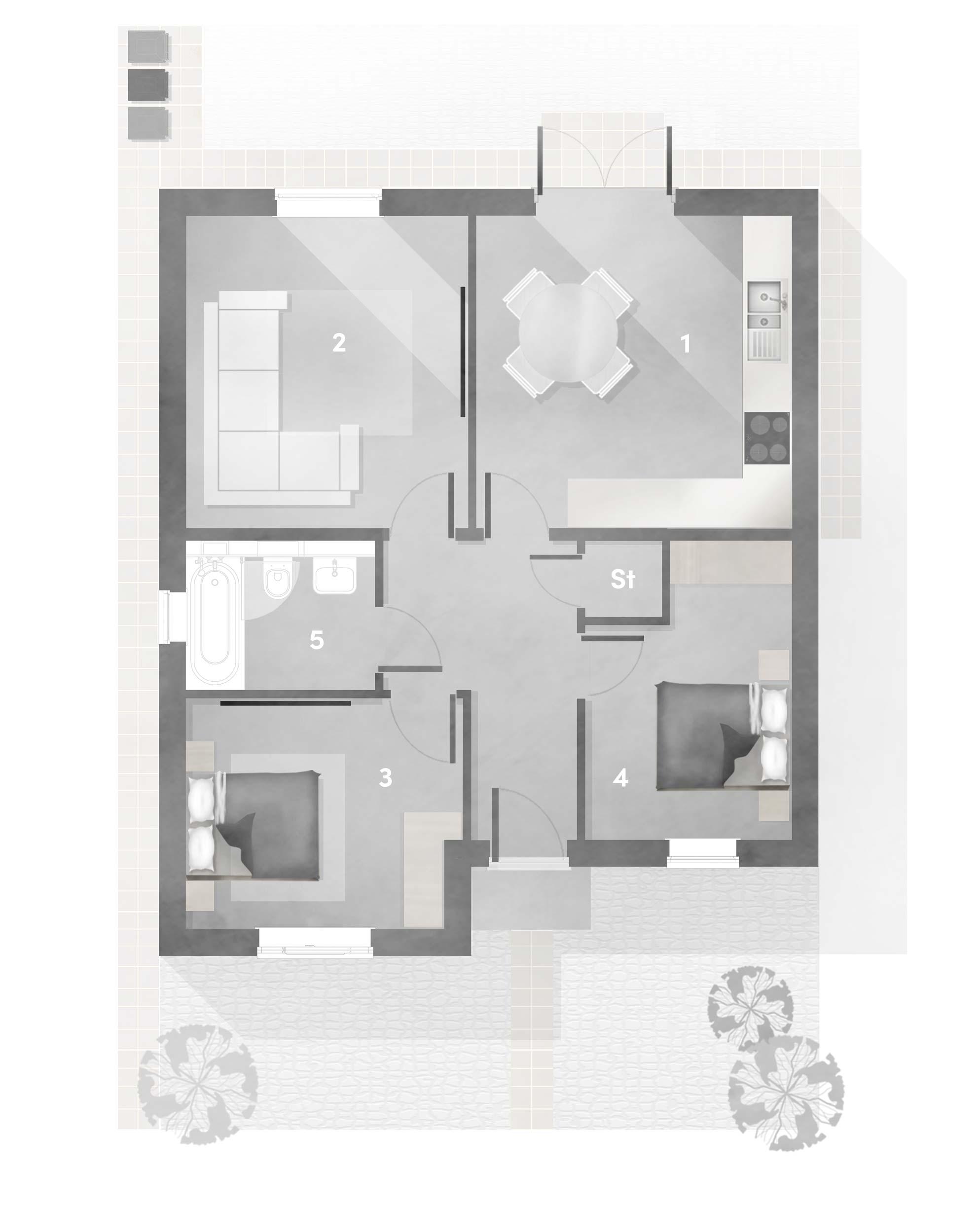 Lisbon floor plan