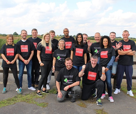 The sky's the limit for our fearless fundraisers, raising  over £8,000 in charity skydive