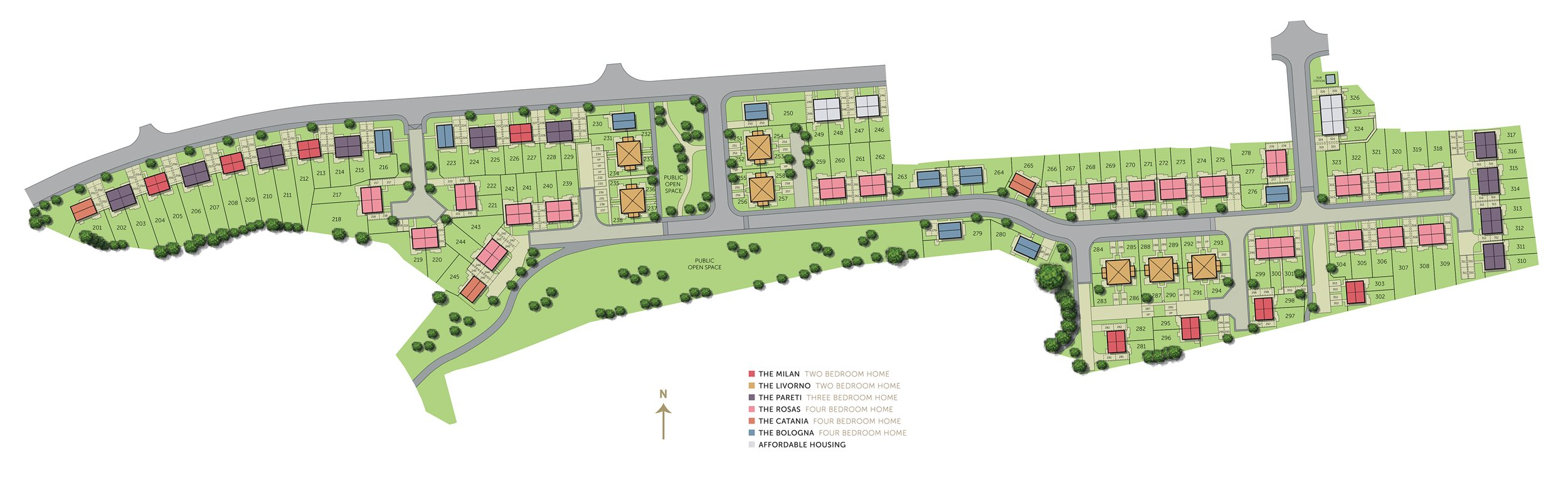 Ambition site plan