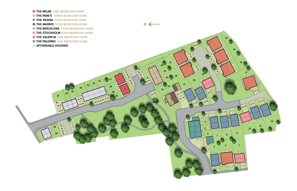 Aura site plan