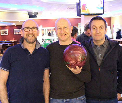 TEAMS STRIKE IT LUCKY IN CHARITY BOWLING EVENT