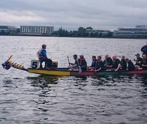 Team Strata makes A splash In charity dragon boat challenge