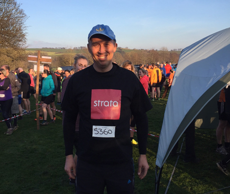 MARK OVERCOMES 10K CHALLENGE FOR CHARITY