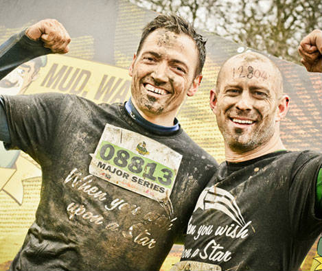 GET MUDDY WITH US FOR CHARITY!