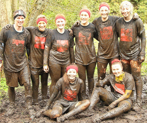 WELL DONE TO OUR MUD RUNNERS!