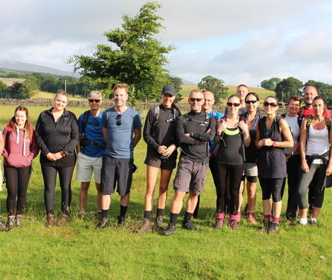 Fundraising totals hike up as Strata takes on Three Peaks Challenge