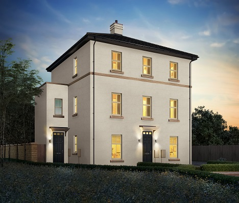 Derby, Definition, Quartz four bedroom semi-detached home