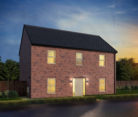 Leeds, Ambition, Catania four bedroom detached home