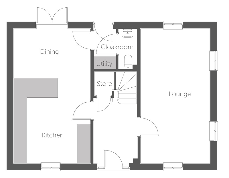 Catania floor plan