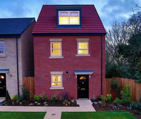 Leeds, Ambition, Rosas four bedroom semi detached home