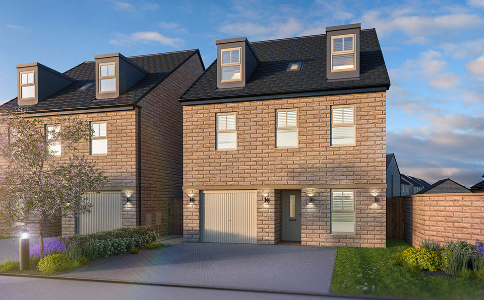 Naples housetype at Finesse - Whinmoor - Strata Homes