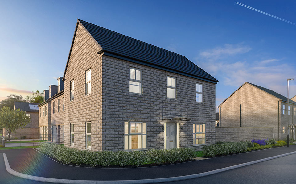 New Homes at Finesse - Whinmoor - Strata Homes