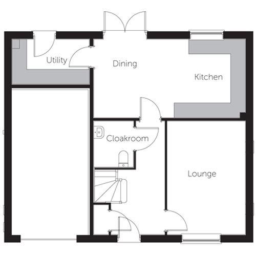 Amber floor plan