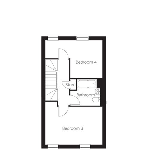 Diamond floor plan