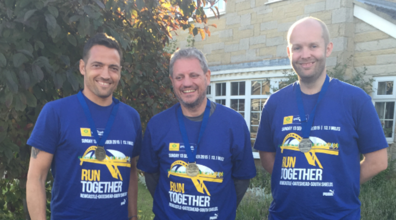 Running just as fast as we can – for charity!