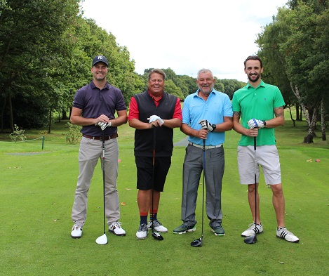 GOLF DAY RAISES £10,576 FOR CHARITY OF THE YEAR