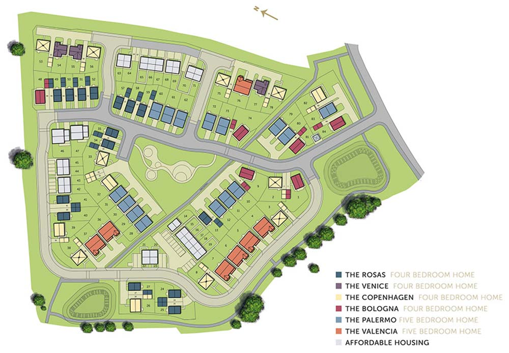 Ambience site plan