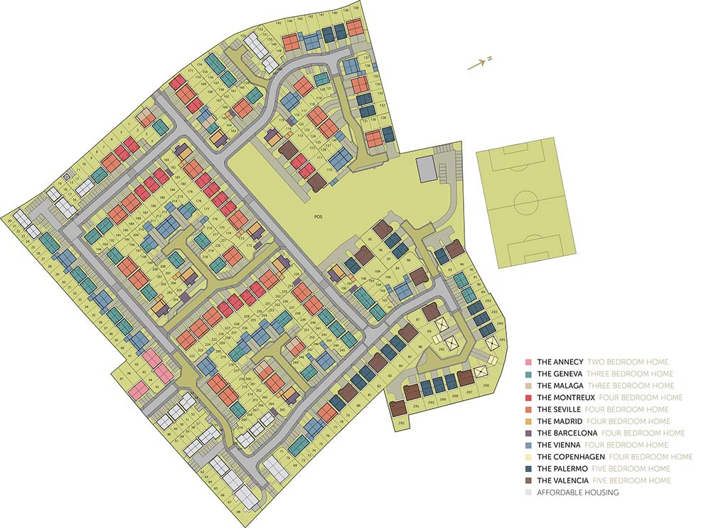 Elegance site plan
