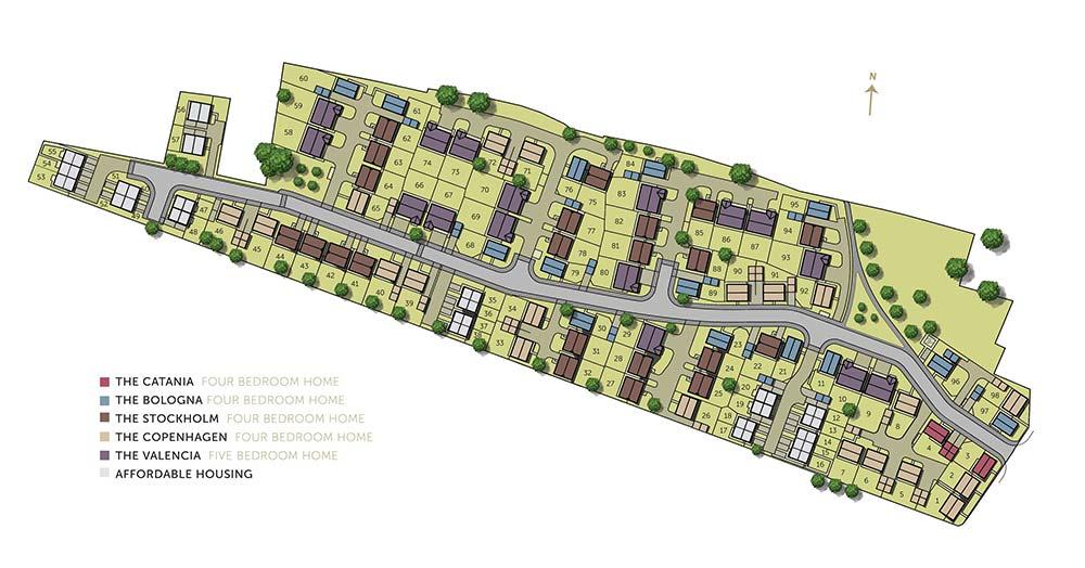 Opulence site plan