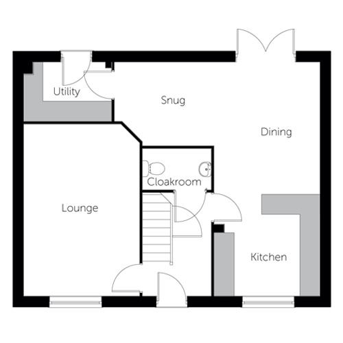 Emerald floor plan