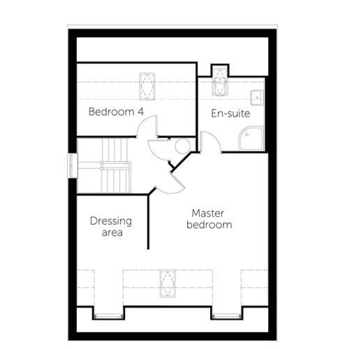 Montreux floor plan