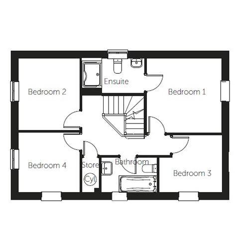 Sorrento floor plan