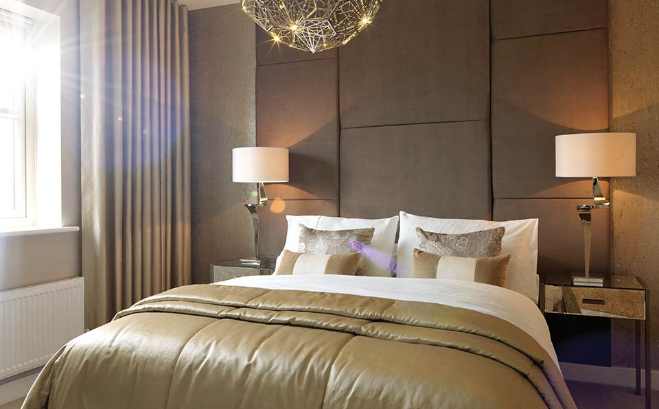 strata homes bedroom - ambience