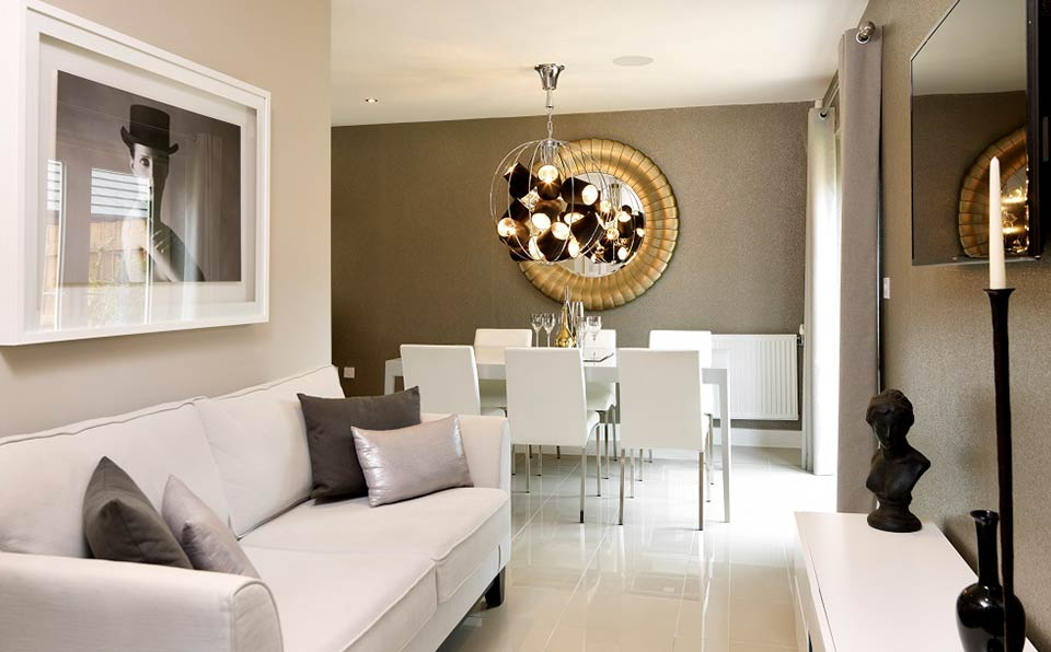 strata homes dining room - ambience