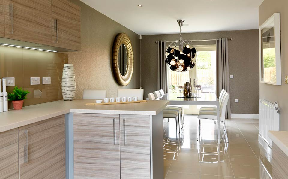 strata homes kitchen - ambience