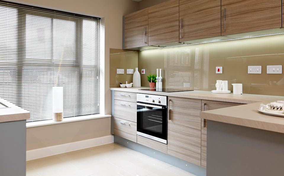 strata homes kitchen detail - ambience