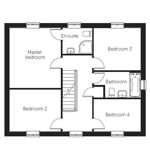 Copenhagen floor plan