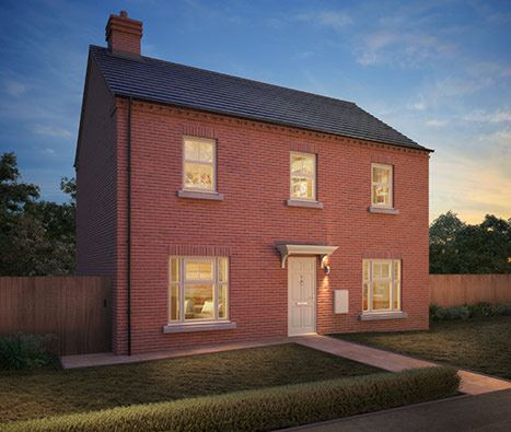 Burton on Trent, Temptation, Copenhagen four bedroom detached home